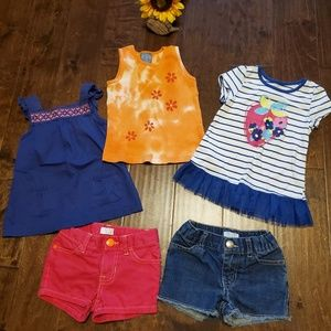 Girls LOT of 4t clothes